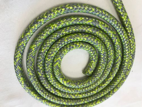 Liros Magic Sport Polyester Rope  Yellow/Silver  4mm and 5mm